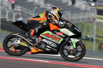Ajo, Grand Prix of the Americas 2013, Moto 3